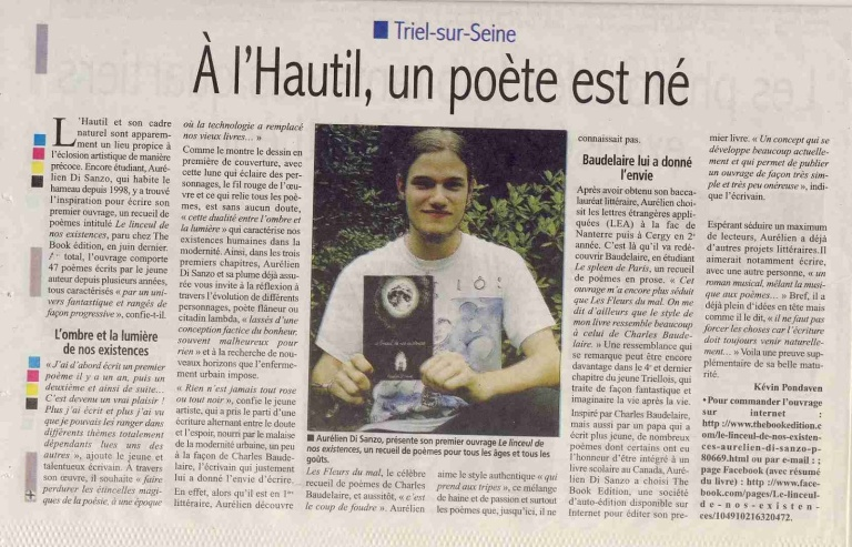 Le Courrier des Yvelines n°3505 (Août 2012)